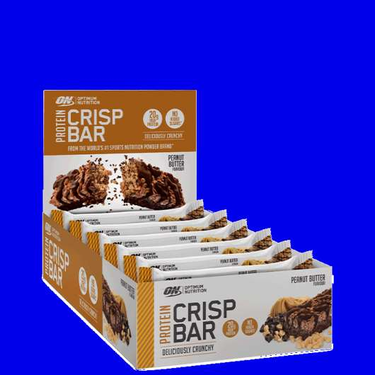 10 x Optimum Protein Crisp Bar, 65 g