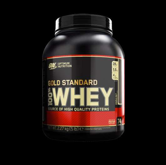 100% Whey Gold Std, 2270 g, White Chocolate Raspberry
