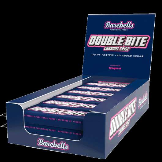 12 x Barebells Double bite Protein Bar, 55 g