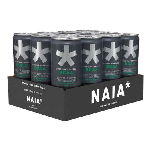12 x NAIA Energy BCAA, 330 ml