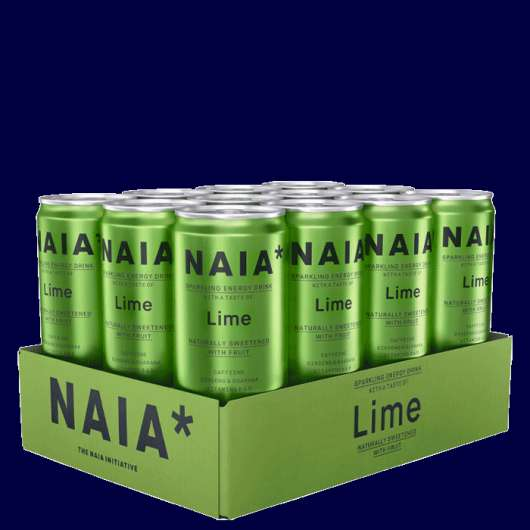 12 x NAIA Energy Drink, 330 ml