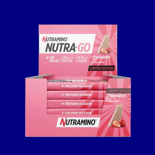 12 x Nutra Go Protein Wafer, 39 g