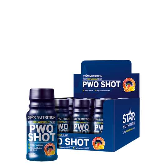 12 x Star Nutrition PWO Shot, 60 ml