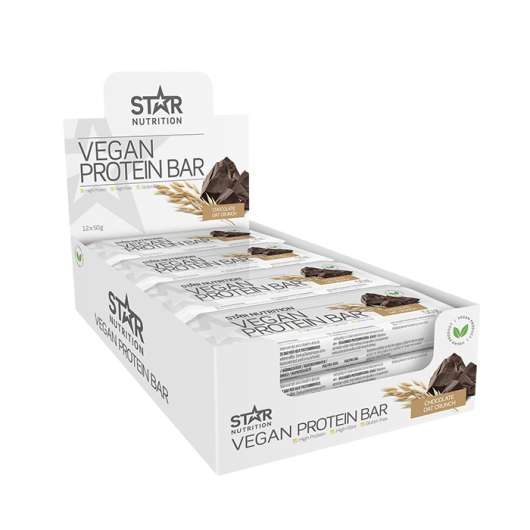 12 x Vegan Protein bar, 50 g