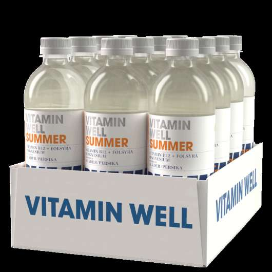 12 x Vitamin Well, 500ml