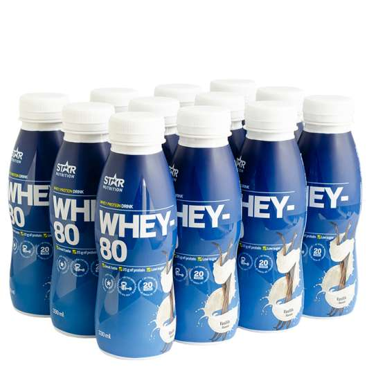 12 x Whey-80, Drink, 330 ml