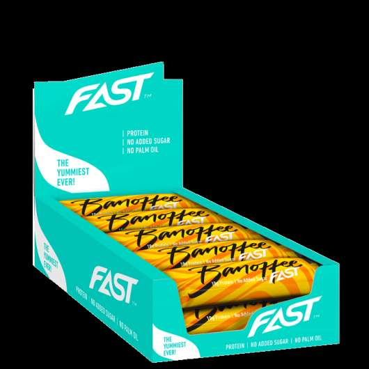 15 x FAST Enjoyment Protein Bar, 45 g