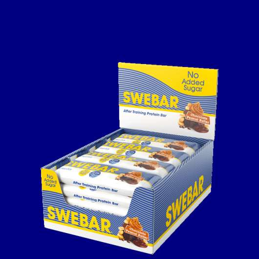 15 x Swebar No Added Sugar, 50 g