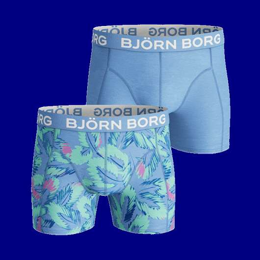 2-Pack Sammy Shorts, Placid Blue