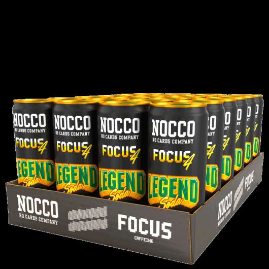 24 x Nocco Focus, 330 ml