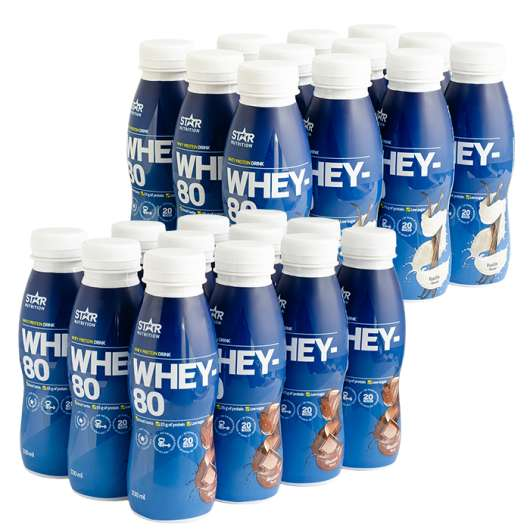24 x Whey-80, Drink, 330 ml