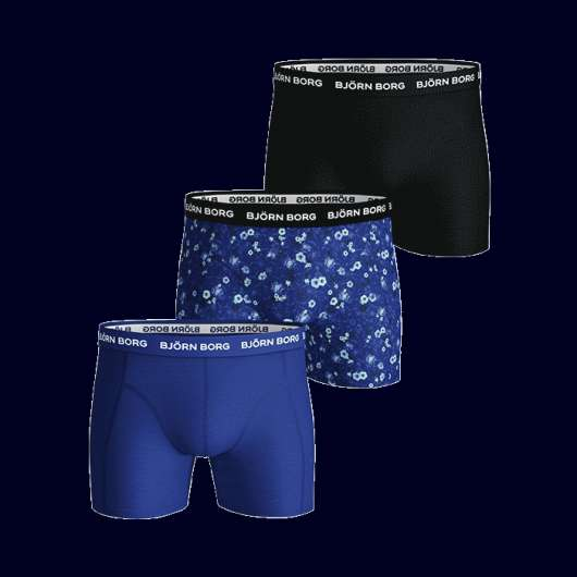 3-Pack Sammy Shorts, Surf The Web