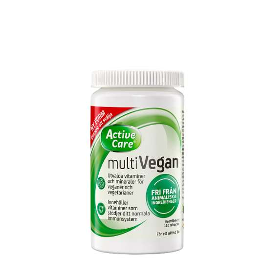 Active Care Multivegan, 120 tabletter