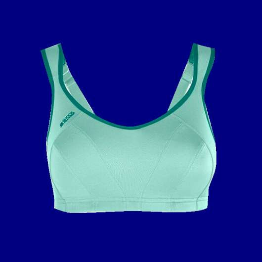 Active MultiSports Support Bra, Green Aloe