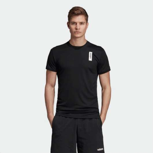 Adidas Brilliant Basic Tee, Black