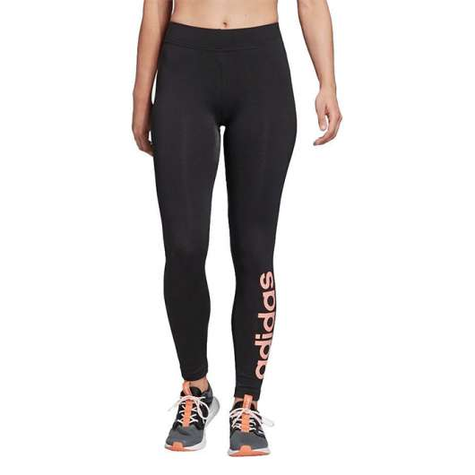 Adidas Essential Linear Tights, Black/Pink