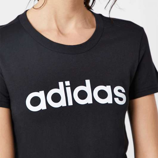 Adidas Essential Slim Tee, Black