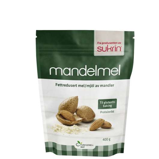 Almond Flour, Fat-reduced, 400 g