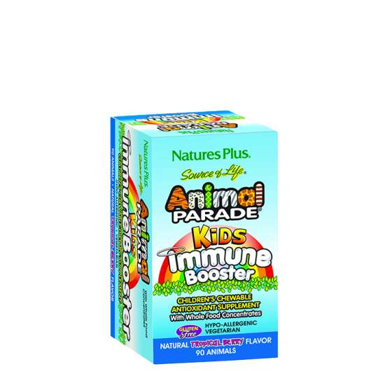 Animal Parade Immune Booster, 90 tabletter