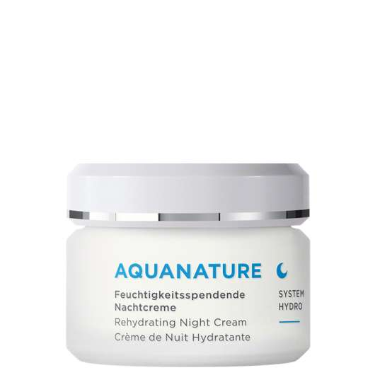 Aqua Nature Rehydrating Night Cream, 50 ml