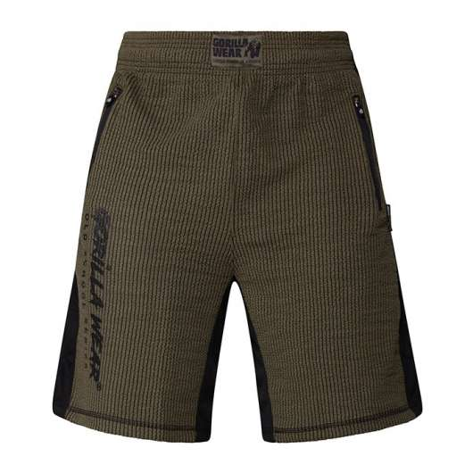 Augustine Old School Shorts, Army Green
