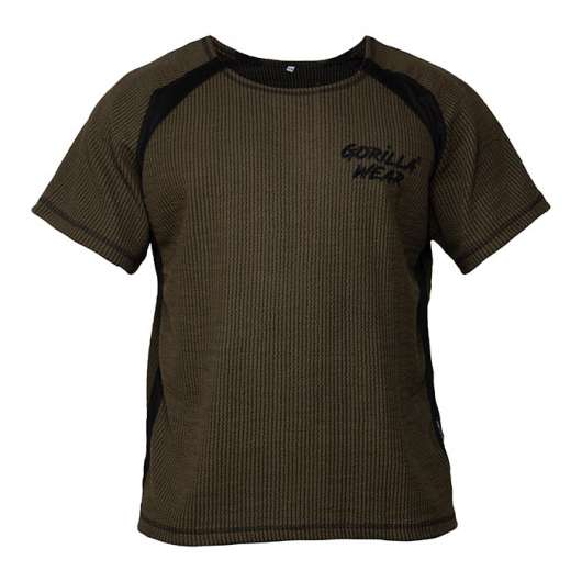 Augustine Old School Work Out Top, Army Green