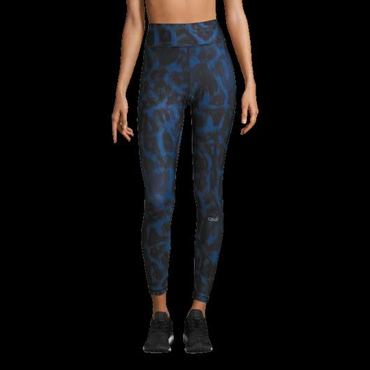 Awake Printed Tights, Passion Blue