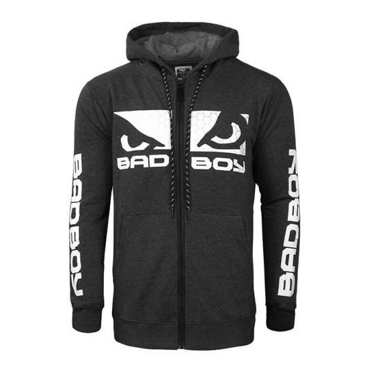 BAD BOY G.P.D. Hoodie, Charchoal