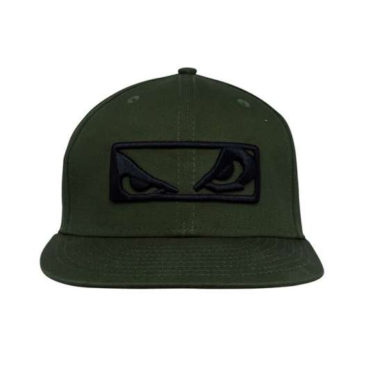 BAD BOY Stand Out Snapback Hat, Green/Black