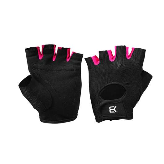 BB Womens Training Gloves, Black/Pink