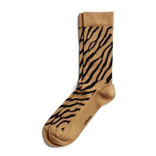 BB Zebra Ankle Sock, Curry, 41-45