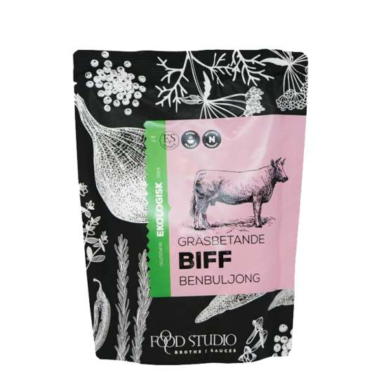 Beef Bone Broth EKO, 350 ml