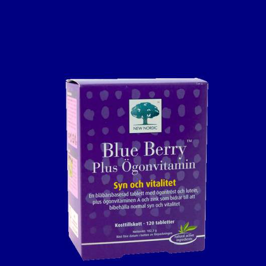 Blue Berry Plus Ögonvitamin, 120 st