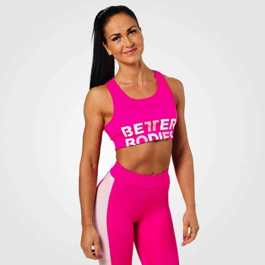 Bowery Sports Bra, Hot Pink