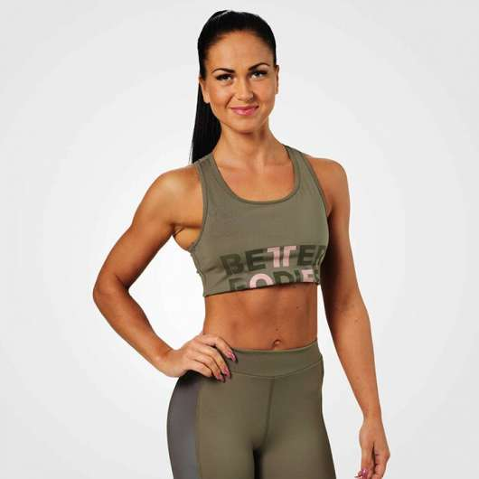 Bowery Sports Bra, Wash Green