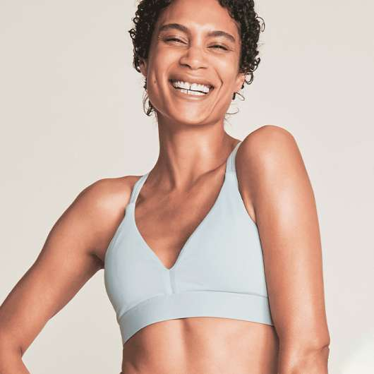 Braid Sports Bra, Stone