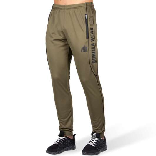 Branson Pants, Army Green/Black