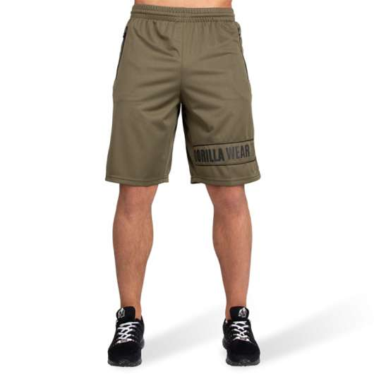 Branson Shorts, Army Green/Black
