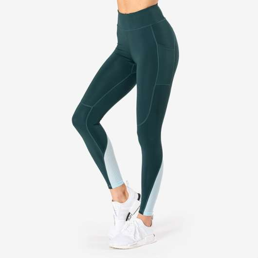 Breeze Tights, Teal Green