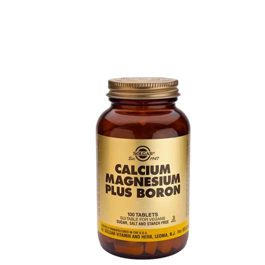 Calcium Magnesium plus Boron, 100 tabletter
