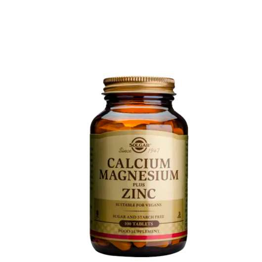 Calcium Magnesium plus Zinc, 100 tabletter