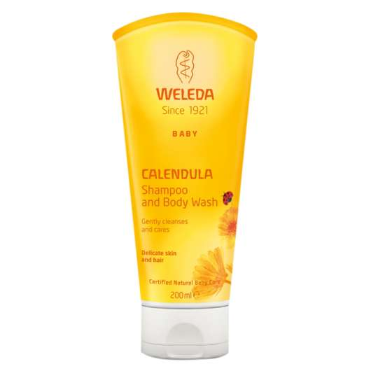 Calendula Shampoo & Body Wash, 200 ml
