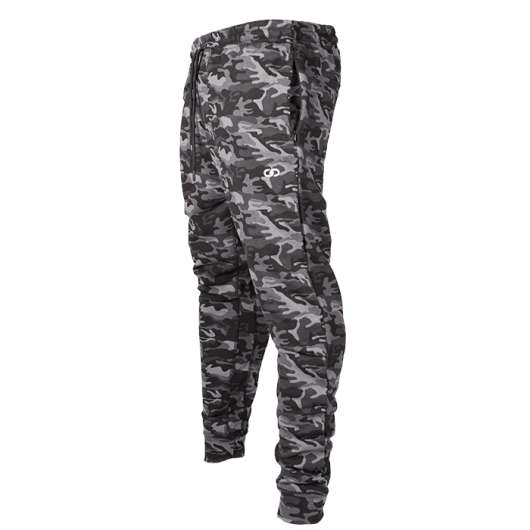 Chained Gym Pants, Black Camo