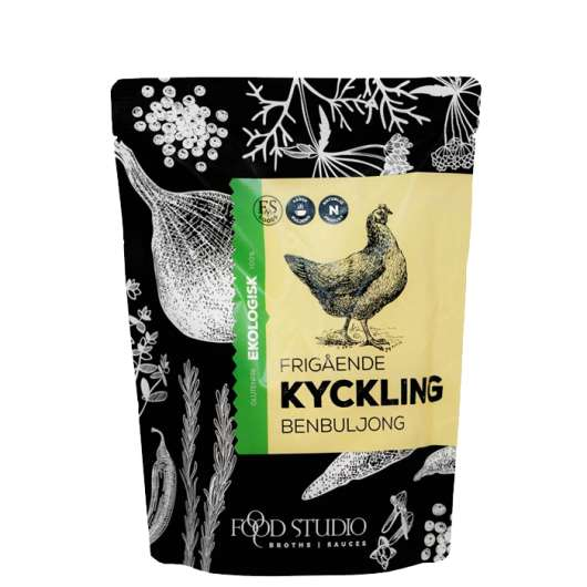 Chicken Bone Broth EKO, 350 ml