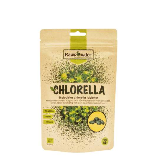 Chlorella Tabletter EKO, 300 st