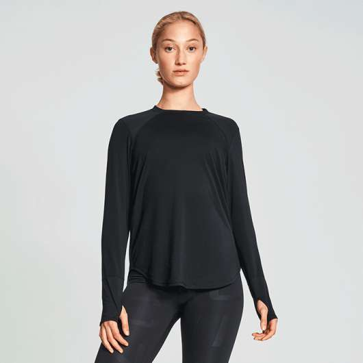Clara Loose Long Sleeve, Black
