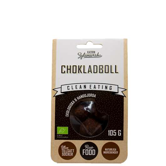 Clean Eating Chokladboll, 105 g