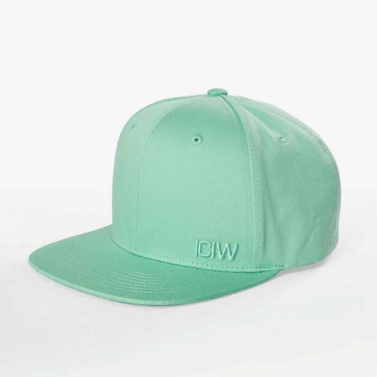 Clean Snapback Cap, Lime Green
