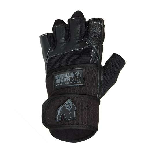 Dallas Wrist Wrap Gloves, black