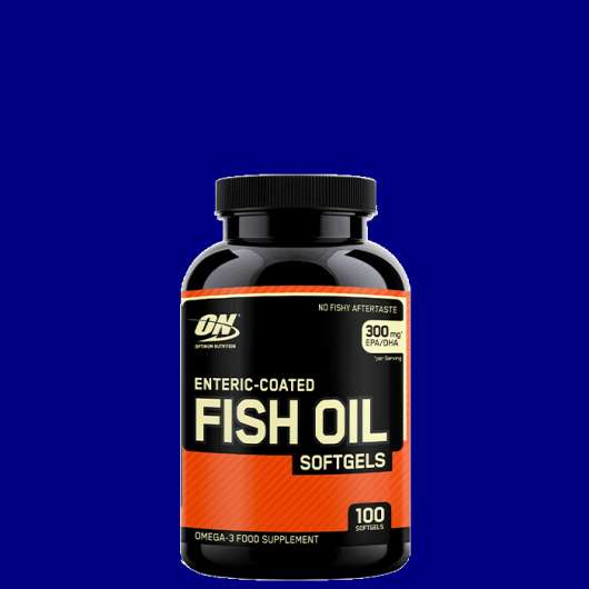 Enteric-Coated Fish Oil, 100 gels